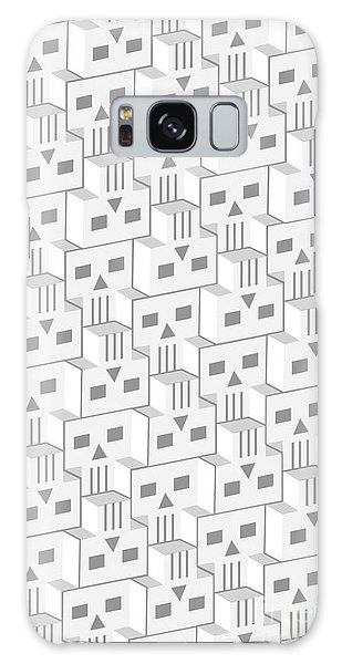 Blockheads - Light Galaxy Case by Gregory Dyer