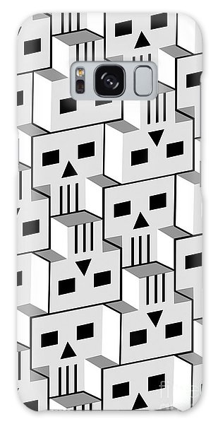 Blockheads Galaxy Case by Gregory Dyer
