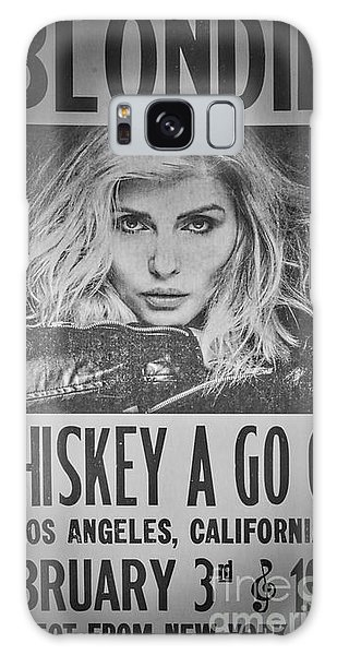 Blondie At The Whiskey A Go Go Galaxy Case