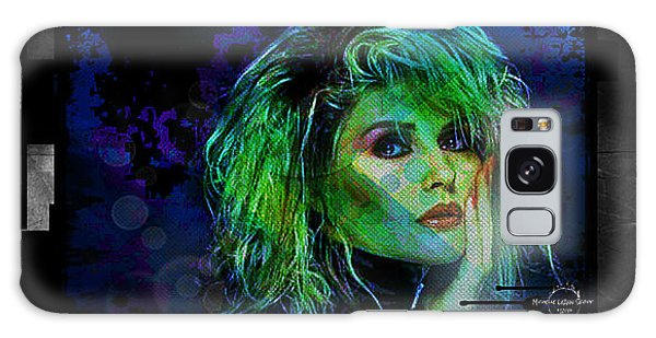 Blondie - Debbie Harry Galaxy Case by Absinthe Art By Michelle LeAnn Scott