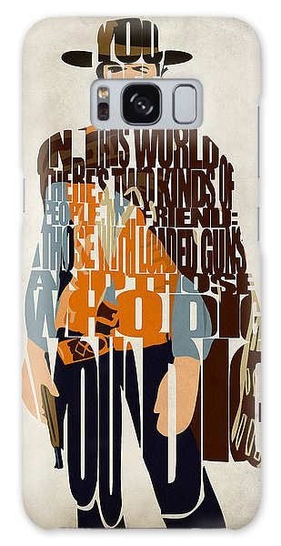 Blondie Poster From The Good The Bad And The Ugly Galaxy Case