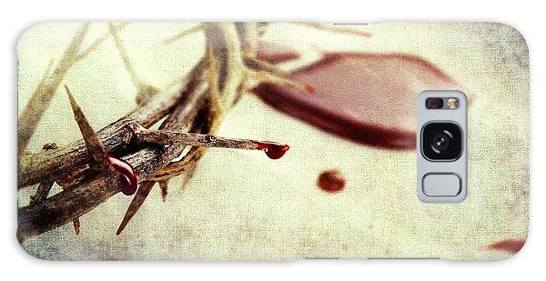 Blood And Thorns Galaxy Case by Stephanie Frey