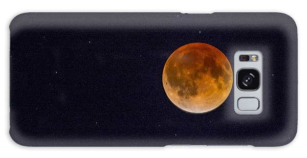 Blood Moon And Stars Galaxy Case