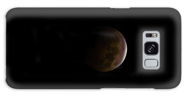 Galaxy Case featuring the photograph Blood Moon by Steven Santamour