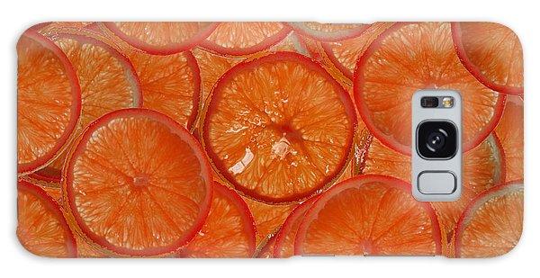 Blood Orange Galaxy Case