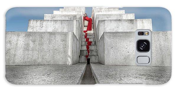 Dress Galaxy Case - Blood Red by Yuval Shiboli
