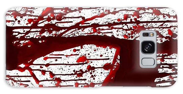 Blood Spatter Series Galaxy Case