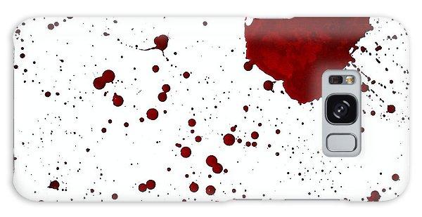 blood splatter PANCHAKARMA Galaxy Case