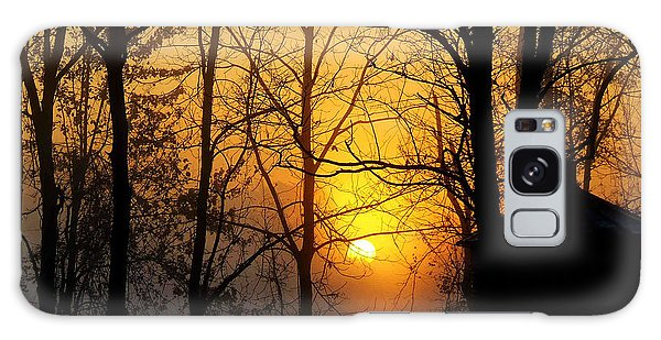 Bloom II Morning Mist Sunrise Galaxy Case