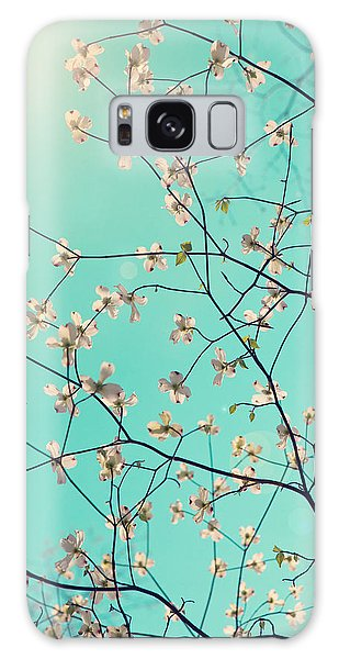 White Galaxy Case - Bloom by Kim Fearheiley