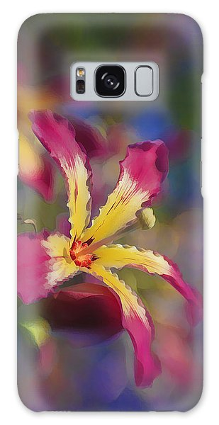 Bloomin Hong Kong Orchid Galaxy Case