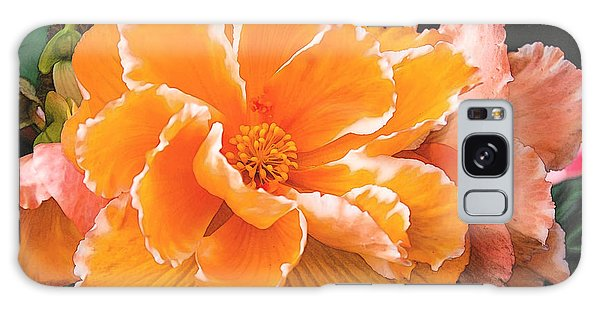 Blooming Begonia Image 1 Galaxy Case