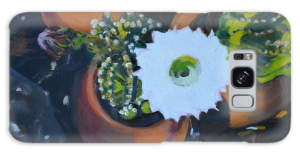 Blooming Cacti Galaxy Case by Julie Todd-Cundiff