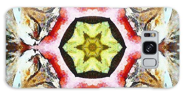 Galaxy Case featuring the photograph Blooming Fibonacci by Derek Gedney