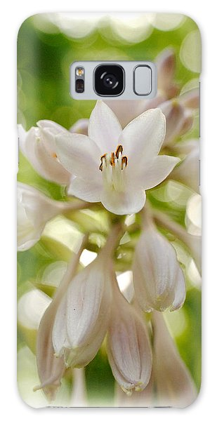 Blooming Hosta Galaxy Case