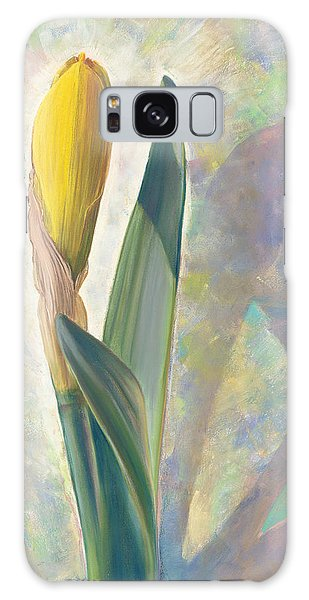 Blooming Iris Galaxy Case