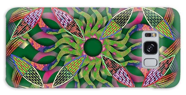 Blooming Mandala 3 Galaxy Case