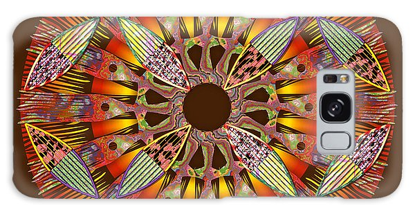 Blooming Mandala 4 Galaxy Case