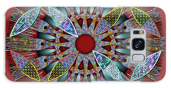 Blooming Mandala 2 Galaxy Case