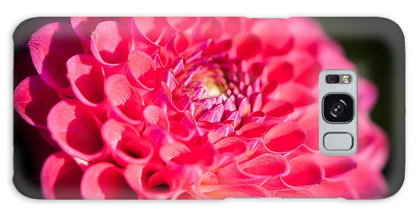 Blooming Red Flower Galaxy Case
