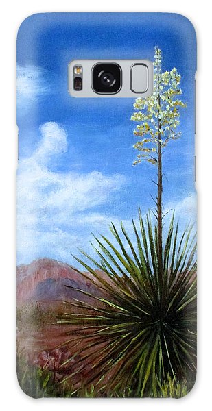 Blooming Yucca Galaxy Case