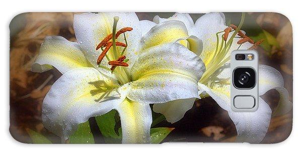 Bloom'n Lilies Galaxy Case