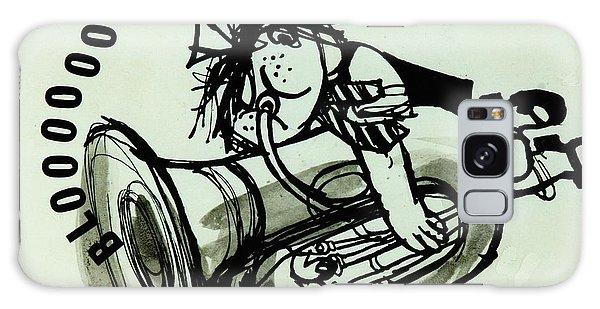 Trombone Galaxy Case - Blooooob! Ink On Paper by Brenda Brin Booker