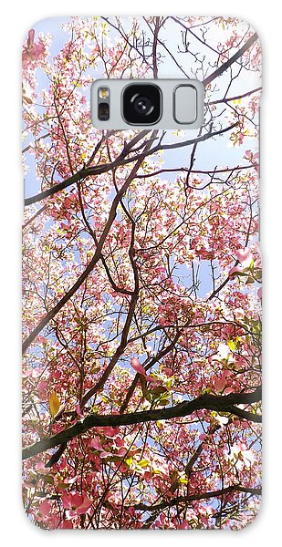Blossoming Pink Galaxy Case