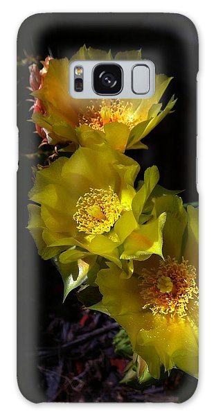 Blossoms At Dusk Galaxy Case