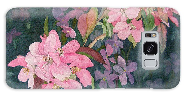 Blossoms For Sally Galaxy Case