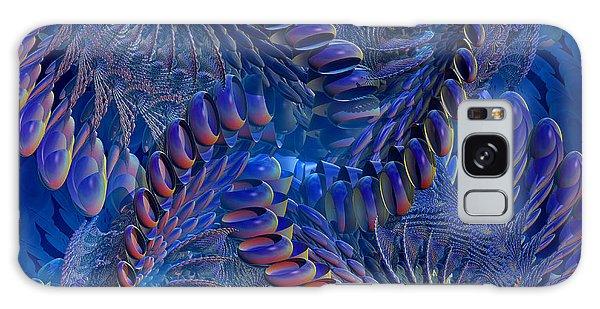 Blue 3 Galaxy Case