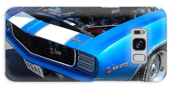 blue '69 Camaro Z28 Galaxy Case