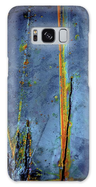 Blue Abstract Seven Galaxy Case by Craig Perry-Ollila