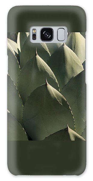 Blue Aloe Galaxy Case