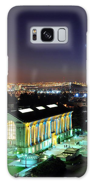 Blue And Gold Library And San Francisco Galaxy Case
