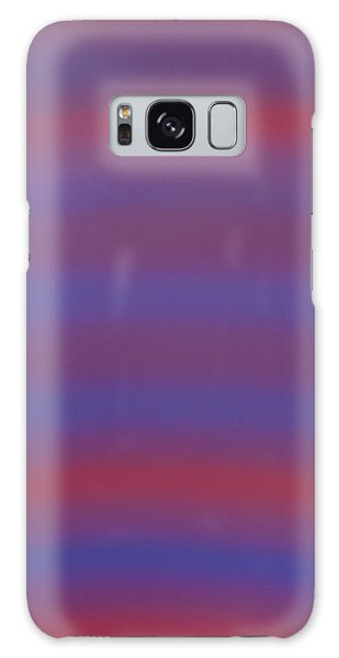 Blue And Red Galaxy Case