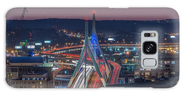Blue And Red Zakim Galaxy Case