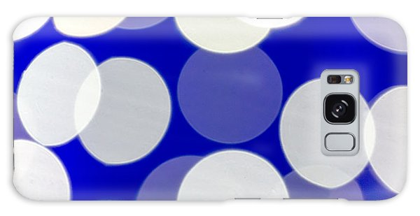 Blue And White Light Galaxy Case