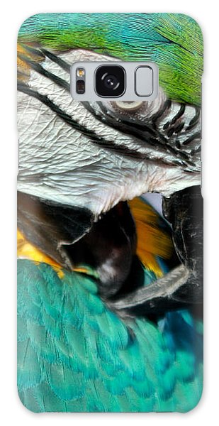 Blue And Yellow Macaw  Galaxy Case