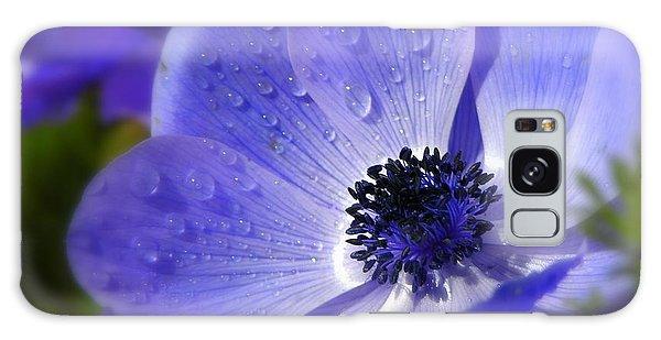 Blue Anemone Galaxy Case