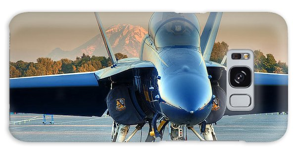 Blue Angel At Sunset Galaxy Case by Jeff Cook