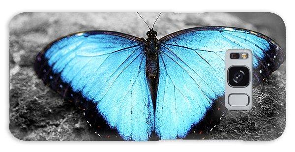 Blue Angel Butterfly 2 Galaxy Case