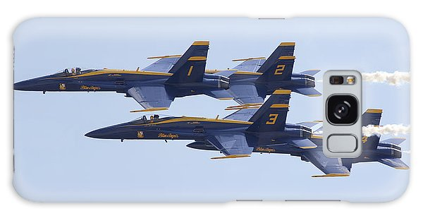 Blue Angels 20 Galaxy Case