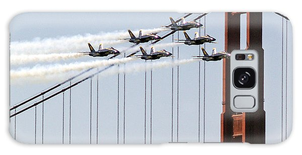 Blue Angels And The Bridge Galaxy Case