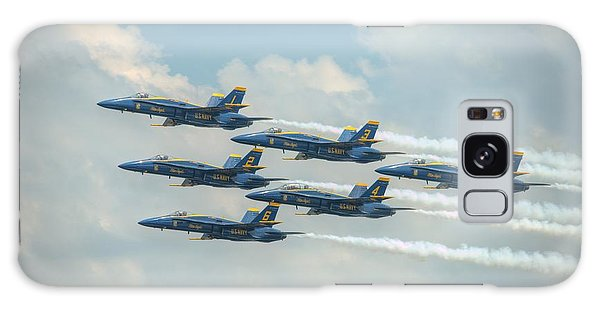 Blue Angels Delta Pass Galaxy Case