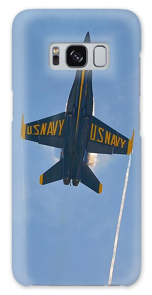 Blue Angels Ghost Appears Over Pensacola Beach Galaxy Case by Jeff at JSJ Photography