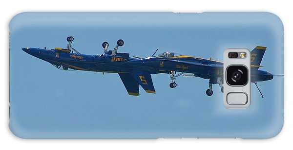 Blue Angels Practice Up And Down With Low And Slow Galaxy Case by Jeff at JSJ Photography