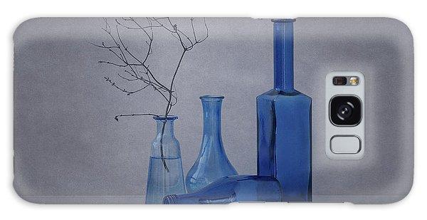 Glass Galaxy Case - Blue by Anna Klinkosz