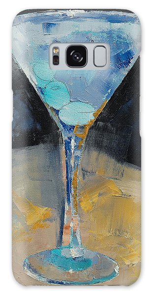 Collectibles Galaxy Case - Blue Art Martini by Michael Creese