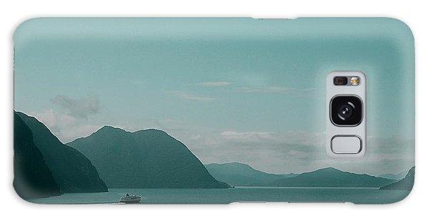 Blue As Fjord Galaxy Case